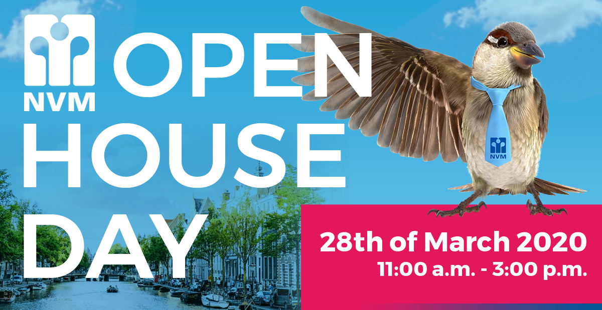 NVM Open House day on Saturday March 28th!